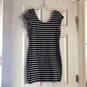 Black and white dress. Charlotte Rousse.
